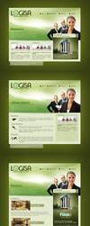 Logisa Layout by EAMejia