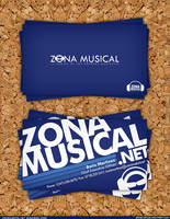 Zonamusical Business Card by EAMejia
