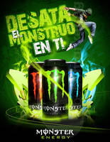Monster Energy ad by EAMejia
