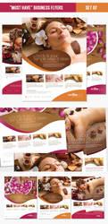 Beauty Spa Flyer Template PSD by EAMejia