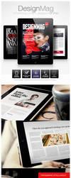 DesignMag iPad Magazine Template by EAMejia