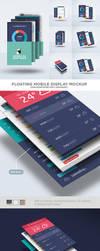 Floating Mobile Display Mock-Up by EAMejia