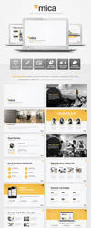 Mica Powerpoint Presentation Template by EAMejia