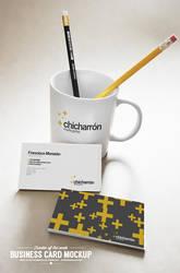 Business Card Mockup PSD Freebie by EAMejia