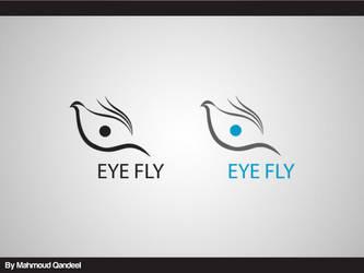 Eye Fly Logo by M-QanDeeL