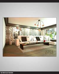 Living room by M-QanDeeL