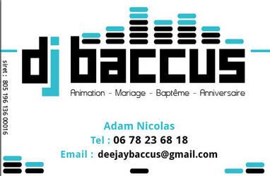 Carte De Visite Dj Baccus By Bepix On DeviantArt