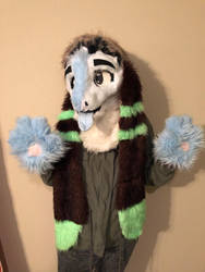 Politico fursuit for sale!  by Feathertho