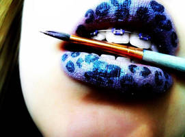 lip art by morgangirlygril