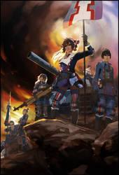Valkyria Chronicles by w3etiki