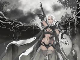 Lady Knight v2 by w3etiki