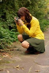 Taking a picture by SchokoPanda