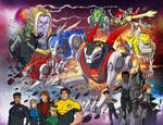 Voltron Force vol.4 pinup by papillonstudio