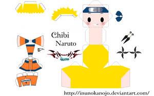 Chibi Naruto by inunokanojo