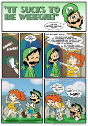 Sucks to be Luigi: Jogging by kevinbolk