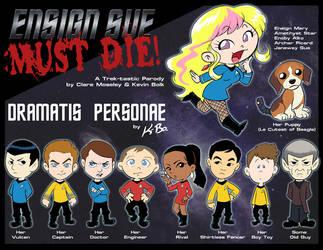 Ensign Sue Must Die Characters by kevinbolk