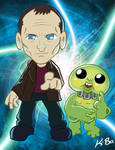 9th Doctor Who Chris Eccleston by kevinbolk