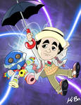 7th Doctor Who Sylvester McCoy by kevinbolk