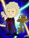 3rd Doctor Who Jon Pertwee by kevinbolk