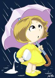 Morton Salt Umbrella Girl by kevinbolk