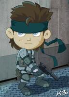 Metal Gear Solid Snake by kevinbolk