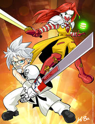 KFCloud VS McBeefiroth by kevinbolk