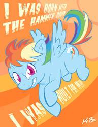 Rainbow Dash by K-Bo. by kevinbolk