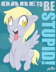Derpy Hooves by K-Bo. by kevinbolk
