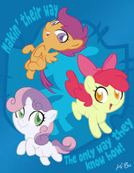 The Cutie Mark Crusaders by K-Bo. by kevinbolk