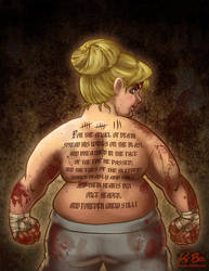 Pam Poovey from Archer: 'You Lose!' by kevinbolk