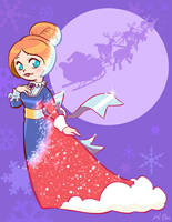 Mrs. Santa Claus (Jessica) by kevinbolk