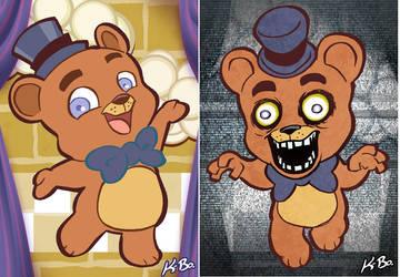 Five Nights at Freddy's Art Card 1 Freddy Fazbear by kevinbolk