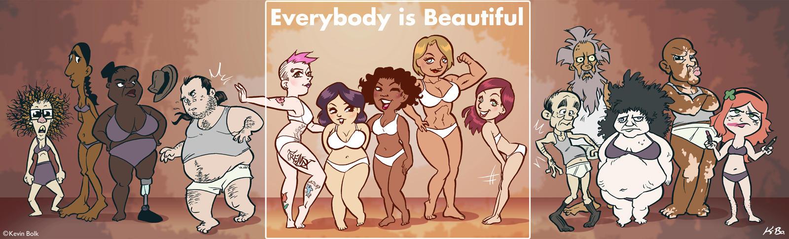 Everybody* Is Beautiful by kevinbolk