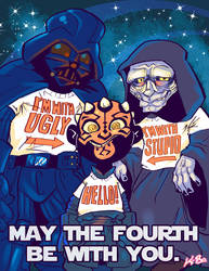 Happy Star Wars Day! by kevinbolk