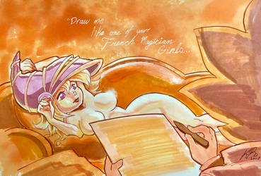 Draw Me Like One of Your French Magician Girls... by kevinbolk