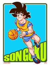 Dragon B-Ball (ver.2) Son Goku by kevinbolk