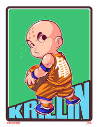 Dragon B-Ball KRILLIN by kevinbolk