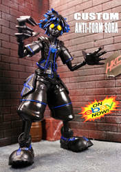 Custom Anti Form Sora Play Arts Figure by HKC by hunterknightcustoms