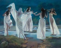 The Twilight Falls by selma-todorova