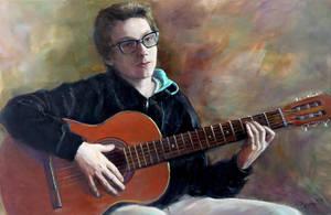 The Portrait of Erik by selma-todorova
