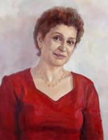 Portrait of Beti by selma-todorova