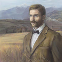 Portrait of Krastio Asenov by selma-todorova