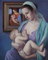 Reincarnations - Madonna Litta by selma-todorova