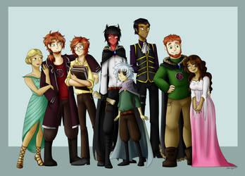 The Addler Family by DaniCojo