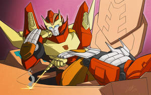 MTMTE Rodimus by lahteh