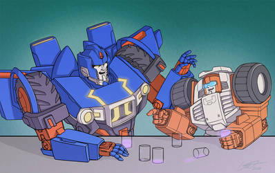 Skids and Swerve by lahteh