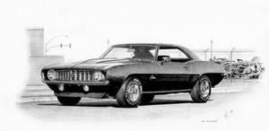 '69 Camaro by Boss429