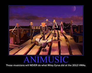 Animusic Motivational Poster by QuantumInnovator