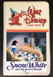 Vintage Walt Disney Home Video-Snow White by QuantumInnovator