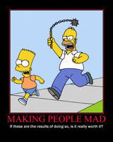 Making People Mad Demotivational by QuantumInnovator